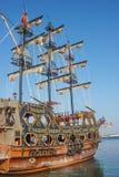 Stylized pirate ship 1 Stock Image