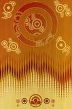 stylized planka för bakgrundscederträ o5 Royaltyfri Foto