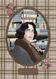 Oscar Wilde. Stylized portrait of Oscar Wilde Royalty Free Stock Photos