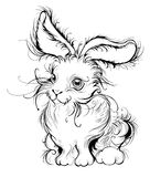 Stylized rabbit Royalty Free Stock Photography