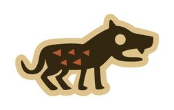 Medieval Wolf Icon