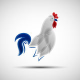 Stylized Rooster Royalty Free Stock Image