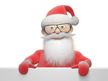 Stylized Santa Claus character Stock Images