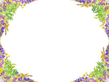 Stylized seamless floral pattern Royalty Free Stock Photography