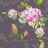 Stylized seamless pattern. Universal template for greeting card, web page, background Stock Images