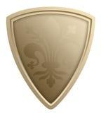 Stylized shield illustration Royalty Free Stock Photography