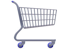 Stylized shopping cart Royalty Free Stock Photos