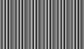 Stylized siding seamless background. Stylized vertical siding or folds of fabric grey seamless background to overlay on image Stock Photo
