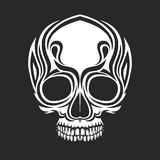 A stylized skull Stock Photo
