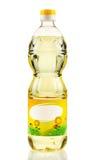 stylized solros för droppe olja Arkivbild
