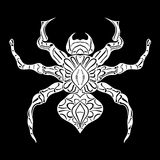 Stylized spider. Animals. Royalty Free Stock Images