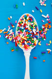 Stylized Sprinkles Royalty Free Stock Images