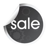 Stylized stick with sale Royalty Free Stock Images