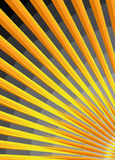 Stylized sunrise. Beautiful vector detail of the sun, stylized sunrise Royalty Free Stock Images