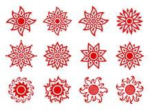 Stylized Suns Stock Image