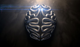 Stylized Thought Statue Royalty Free Stock Images