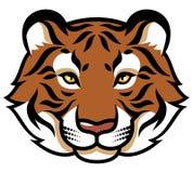 Stylized tiger's head Royalty Free Stock Photos