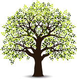 Stylized tree for your design Royalty Free Stock Photo