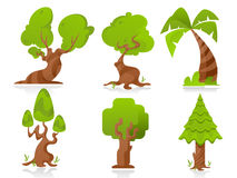 Stylized  Trees Royalty Free Stock Images