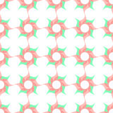 Stylized Twirled Flower Trellis  Background Royalty Free Stock Image