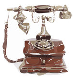 Stylized vintage phone Royalty Free Stock Photo
