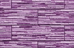 Stylized violet brick wall texture. Abstract background and textutre for design Stock Photos