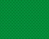 Stylized wall background in green Royalty Free Stock Photography