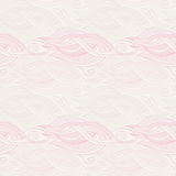 Stylized waves elements pattern Royalty Free Stock Photography