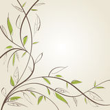 Stylized willow Royalty Free Stock Photo