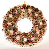 Stylized Wreath Royalty Free Stock Photo