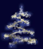 Stylized xmas tree Stock Photos