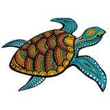 Stylizowany żółw Zdjęcie Royalty Free