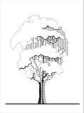 Stylizowany drzewo (1) Fotografia Stock