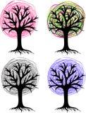 Stylizowany drzewo Zdjęcia Stock