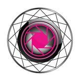 Stylizowany fotografia logo Fotografia Royalty Free