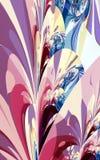 Stylizowany Kwiecisty abstrakt Fotografia Royalty Free
