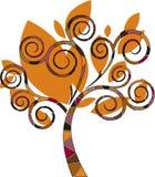 stylizowany projektanta drzewo Zdjęcia Stock