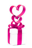 stylizowany serca valentine Obraz Stock