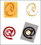 stylizowany symbol Fotografia Stock