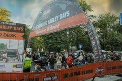 Stylizowany wejście roweru przedstawienie Obrazy Royalty Free