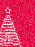 stylizująca Boże Narodzenie jodła Zdjęcie Royalty Free