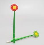 Stylo dans la forme de fleur Photo libre de droits