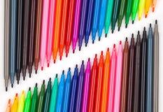 Stylo de couleur Photographie stock libre de droits