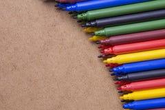 Stylos colorés Photo stock