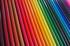 Stylos de couleur photographie stock libre de droits