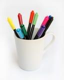Stylos de marqueur colorés. Photo libre de droits