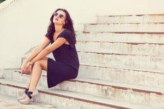 stylowe młodych kobiet obrazy stock