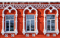 Stylowi barok okno Fotografia Stock