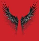 stylowi wektorowi skrzydła Zdjęcie Royalty Free