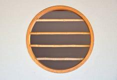 stylowy Japan bambusowy okno Obrazy Stock